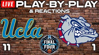 UCLA vs Gonzaga   Live Play-By-Play & Reactions