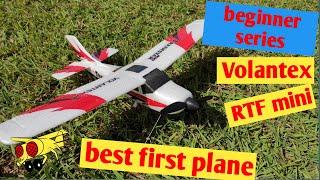 Best Beginner RC plane Volantex V761-1 Firstar Mini trainstar RTF 400mm