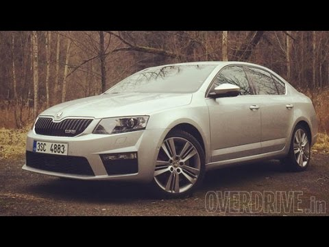 2015 Skoda Octavia vRS review
