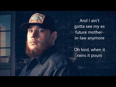 Luke Combs When It Rains It Pours Lyrics