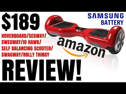 (CHEAPEST) $200 SAFE HOVERBOARD ON AMAZON!!! Nimbus Wheels Full Review – tylerf