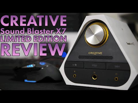 Creative Sound Blaster X7 Limited Edition Review | Best DAC For Gaming | PC And Console Mp3