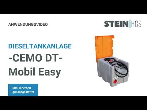 Mobile Dieseltankanlage -CEMO DT-Mobil Easy-