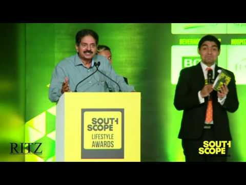 Business Tycoon Ranjith Pratap at The RITZ presents SouthScope Lifestyle Awards