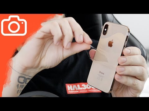 UNBOXING IPHONE XS GOLD!