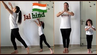 Easy dance steps for kids | PATRIOTIC DANCE | AE WATAN | RAAZI | Aanya Joshi - Download this Video in MP3, M4A, WEBM, MP4, 3GP