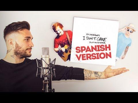⚡️ I Don't Care [EN ESPAÑOL] Ed Sheeran & Justin Bieber (Versión Samuel)
