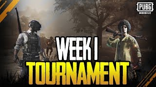 DUO MIRAMAR TOURNAMENT - WEEK 1 - PUBG MOBILE hosted by MrxFlip + AARON