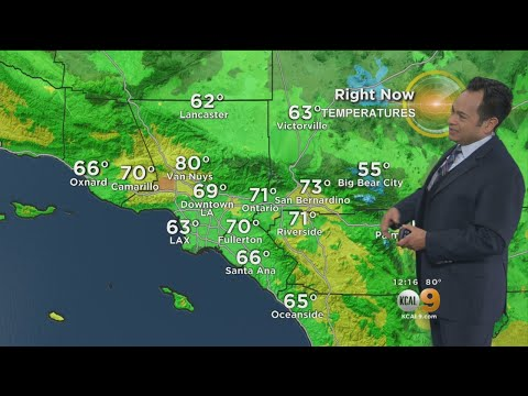 Craig Herrera's Weather Forecast (Jan. 12)