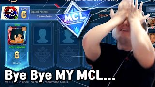 Gosu General almost gonna cry in MCL | Mobile Legends