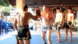 preview picture of video 'MuayThai training | Kaewsamrit Gym@Talingchan'