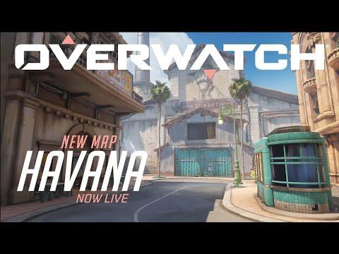 Overwatch 'Havana' Escort Map is Now Live