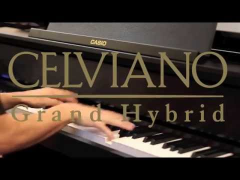 Гибридное фортепиано CASIO GP-300 WE (белое) Video #1
