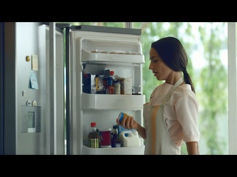 LG New Door-in-Door™  Refrigerator : Don't miss your special moments