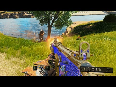 HE TRIED TO TAKE ME OUT WITH HIM | Black Ops 4 Blackout