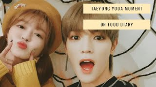 Taeyong & Yooa Moment ( Oh My Girl X Nct Moment 1 )