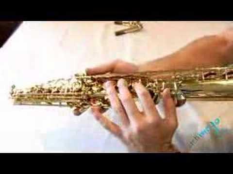 Guide to the Saxophone – Soprano Sax