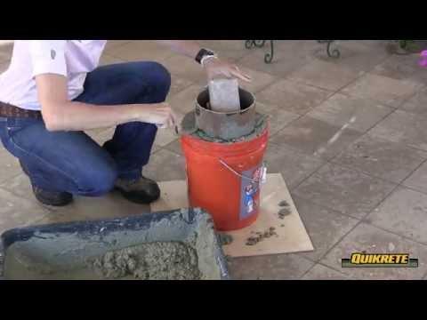 IDEAS CONCRETAS: Cómo hacer un taburete de jardín en concreto