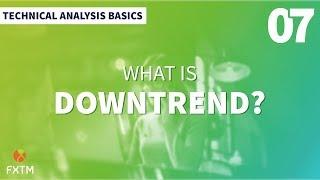 Apakah Trend Menurun dalam Dagangan Forex?