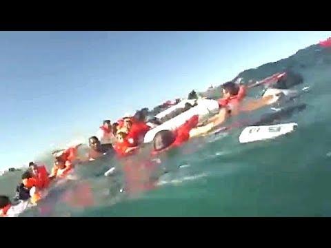 #196 【船舶事故】  船舶の衝突事故映像。