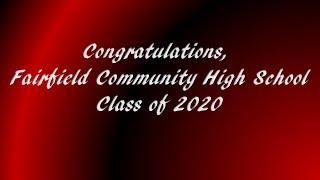 Fairfield Comm HS Class of 2020 Graduation Card