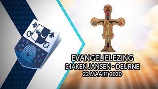 Evangelielezing diaken Jansen Deurne – 22 maart 2020 - Peel en Maas TV Venray