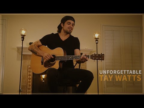 Unforgettable - Thomas Rhett (Official Acoustic Music Video By Tay Watts) - On Spotify & ITunes Mp3