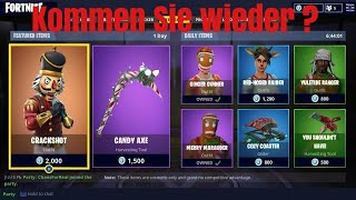 Fortnite Winter Skins kommen !!!!