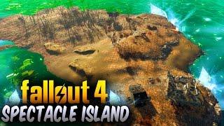 Fallout 4 Secret Locations  - HOW TO UNLOCK SPECTACLE ISLAND (Fallout 4 Best Settlements & Secrets)