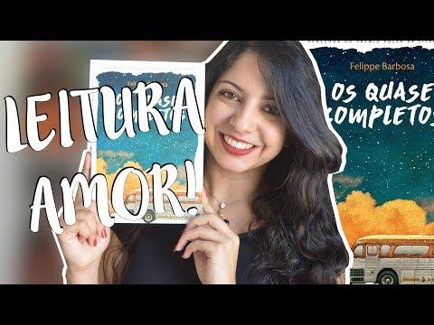 OS QUASE COMPLETOS, FELIPPE BARBOSA | RESENHA | MINHA VIDA LITERÁRIA