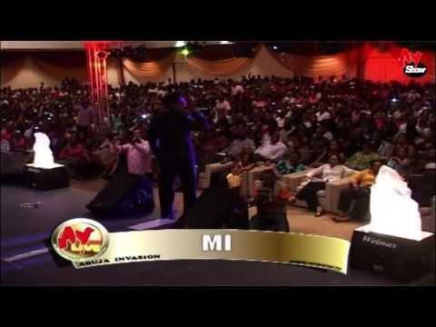 Mercy Johnson Hits MI Below The Belt In Abuja.