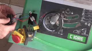 как установить блок плавного пуска на  электроинструмент на примере циркулярной  пилы Hitachi