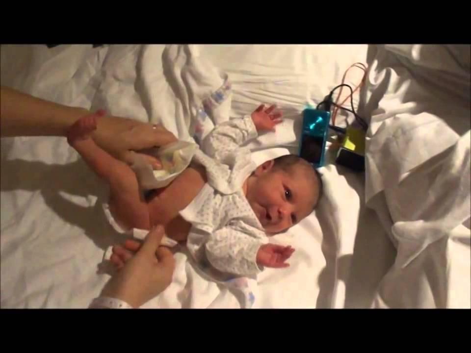 Estimulación prenatal musical y su impacto en un bebé recién nacido.
