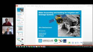 ICID Webinar on Water Accounting and Audit