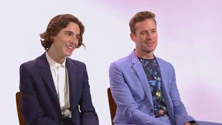 Timothée Chalamet and Armie Hammer — Awards Season Spotlight Part 2