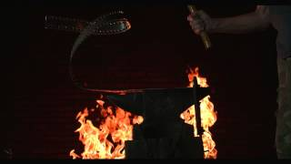 Fire Test With Odyssey 7Q FS700, Red Epic, Anvil