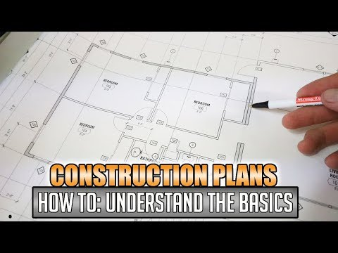 How To: Reading Construction Blueprints & Plans   #1 - YouTube