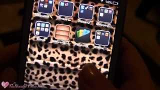 ❥Whats On My IPhone 4 | Cases, Apps, Etc.