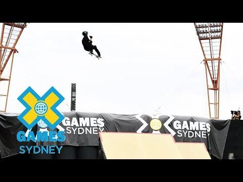 Trey Wood wins Skateboard Big Air bronze   X Games Sydney 2018