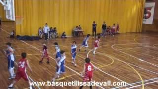 preview picture of video 'MINI- MASCULINO 2010 C.B. BASQUET LLIÇA DE VALL PARTIDO EN SANT CELONI'