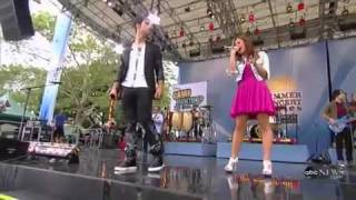 ** Joe Jonas & Demi Lovato 'Wouldn't Change A Thing' LIVE Good Morning America **