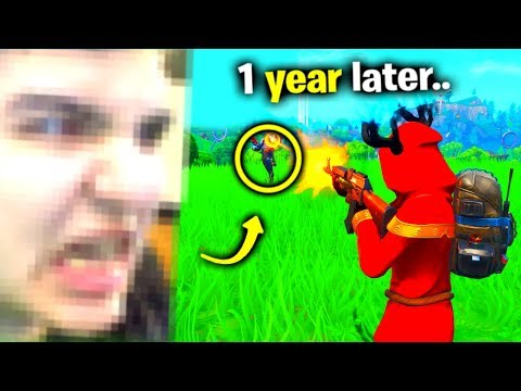 I Spent A YEAR Stream Sniping Him - Fortnite