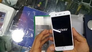 HOTWAV cosmos V8 unboxing and Hotwav mobile reviews( clone iphone 6,6s)