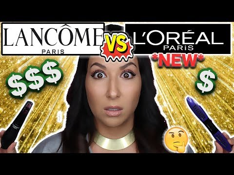 BEST MASCARA OF 2018?!? | NEW L'OREAL X FIBER MASCARA REVIEW + FIRST IMPRESSIONS |