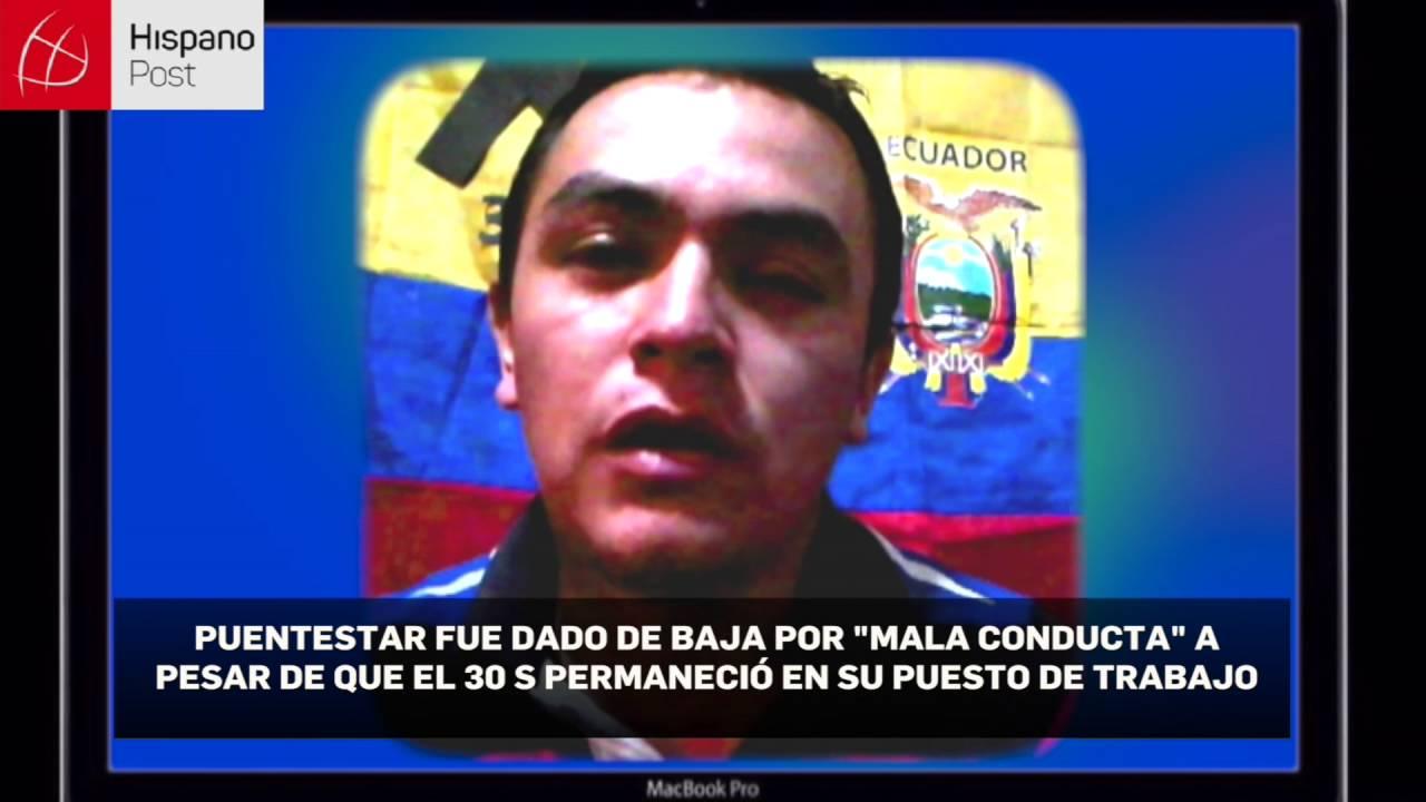 La víctima oculta: Un policía revela a Emilio Palacio secretos del 30S en Ecuador