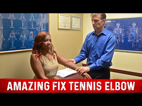 Video Amazing Fix for Tennis Elbow: MUST WATCH!