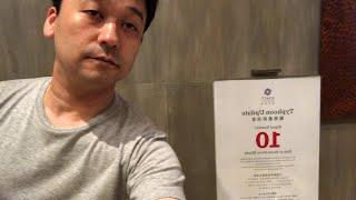 外やばい。香港で台風シグナル10発動。