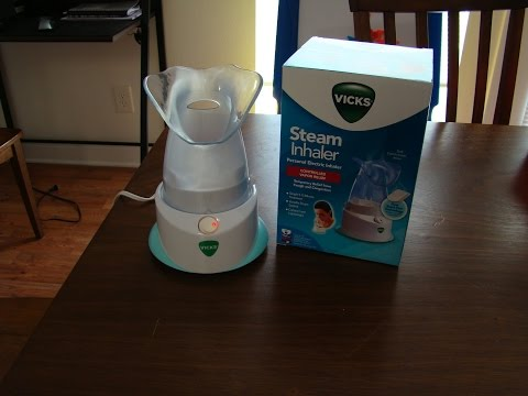 Tutorial:  Vicks Steam Inhaler