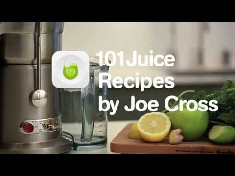 Video 101 Juice Recipes App for iOS and Android