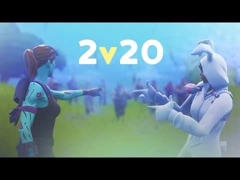2v20 MADNESS - ft. SypherPK | 50vs50 MODE (Fortnite Battle Royale)